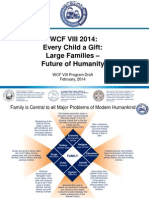 World Congress of Families Moscow 2014 Brochure