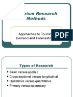 Tourism Research Methods
