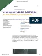 Diagnostico Inyeccion Electronica