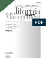 El role de la gerencia en la seguridad de la información
