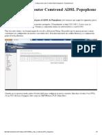Configuración router Comtrend ADSL Pepephone - BandaAncha
