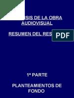 Tema 4. Análisis de la obra audiovisual.1ª parte Breve