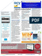 Pharmacy Daily for Wed 05 Mar 2014 - APC pgrad credentialled, TGA keeps an eye out, copayment analysis, Health