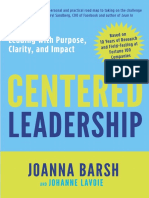 Centered Leadership