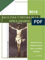 Informe Escultura y Pintura Colonial