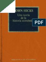 Hicks Historia y Teoria
