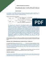 Constitución Empresa en formato Word para su descarga