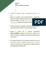 Actividad 2 - Transformaciones y Operaciones Basicas de Senales