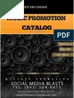 2014  Music Promo Catalog for Phoenixstar9Online Promotions.