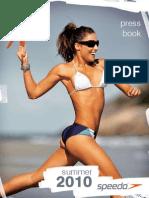 Catálogo Speedo Primavera Verão 2010