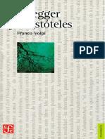 Volpi Franco - Heidegger Y Aristoteles