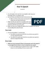 how to speech workshop