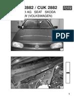 Filtru Polen Golf III