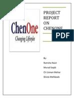Chen one marketing plan
