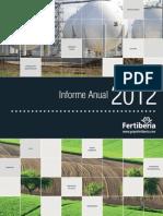 Fertiberia Informe Anual 2012