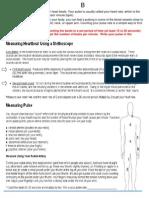 b - pulse  blood pressure
