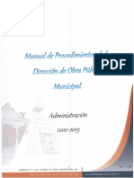 manual de obra pública municipal