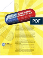 Design for Six Sigma - A Potent Supplement to QbD