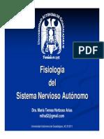 Sesion 80.- Fisiologia Del Sistema Nervioso Autonomo