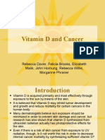 Vitamin D and Cancer NTR313 power point