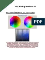 Estudio de color [Parte II] - Armonías del color