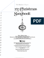 Christmas Songbook by Readers Digest