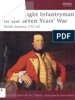 Osprey - Warrior 088 - British Light Infanfryman of the Seven Years' War - North America 1757-63 (E-book)
