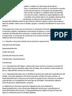 Estructura Organicofuncional de La Oraganizacion