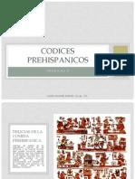 Trabajo 9 Codices Prehispanicos