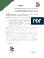 INSCRIPCIÓN TEMPORADA 2014 MINEROS RUGBY