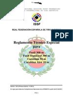 Reglamento Tecnico Carabina ISSF 2013