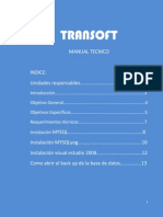 Tran Soft Manual