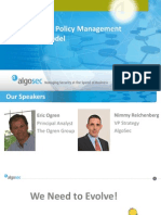 The Security Policy Management Maturity Model - AlgoSec