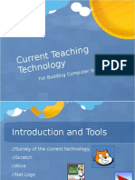 Evaluation of Current Computer Science Teaching Technology Presentation