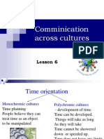 Crosscultural communication in tourism - lesson 6 7.ppt