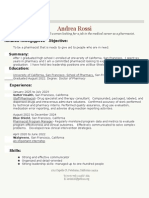 Copy of Resume-Traditional