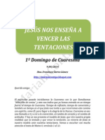 1º DOMINGO DE CUARESMA - A - 9/03/2014