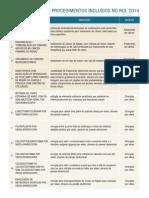 2014_tabela procedimentos rol_PLANO DE SAÚDE
