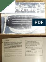 Mitsubishi Montero_Manual Usuario