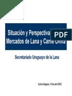 SUL - Situación y Perspectivas de los Mercados de Lana y Carne Ovina