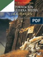 [Legendarium] [Historia de La Tierra Media 04] Tolkien, J. R. R. - La Formacion de La Tierra Media [12397] (r1.0)