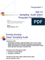 10. Sampling Audit Dalam Pengujian Pengendalian