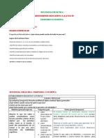 SECUENCIA DIDÁCTICA prescolar 2014
