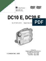 Canon Dc10e_dc20e Service Manual
