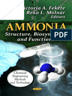 Ammonia. Structure, Biosynthesis and Functions