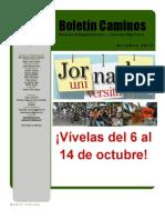Boletín Caminos Octubre