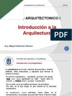 01 introducción a la arquitectura