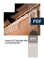 Chinas 12th Five-Year Plan