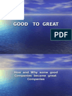 How and Why Some Good Companies Became Great Companies