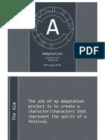 Adaptation B Crit Presentation